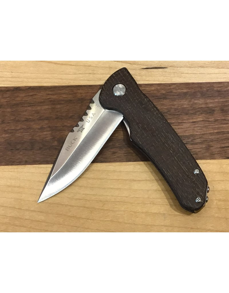 Buck Buck Sprint Pro CPM S30V Brown Micarta