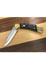 Buck Buck 112 Auto Ranger 420HC with Genuine Ebony Handle