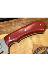 Serenity Straight Drop Point Tactical - Red G10