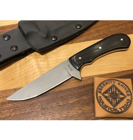 Serenity Straight Drop Point Tactical - Black G10