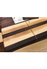 Trinity Craftsman Small Cutting Board Walnut and Maple Laminate