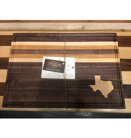 Trinity Craftsman Large Cutting Board with Maple Texas inlay