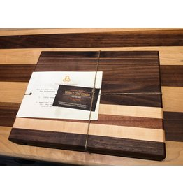 Trinity Craftsman Small Cutting Board Seplele, Walnut & Maple