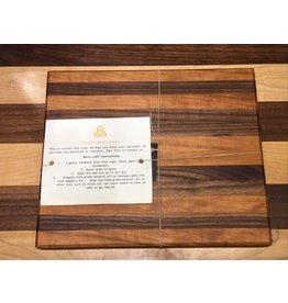 Trinity Craftsman Small Cutting Board Walnut and Cherry Laminate