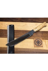 Serenity Butchering Slicer - CPM154 Stainless Steel with an Olive Wood Handle