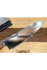 Serenity Rocking Santoku in CPM154 with Black Cherry Handle