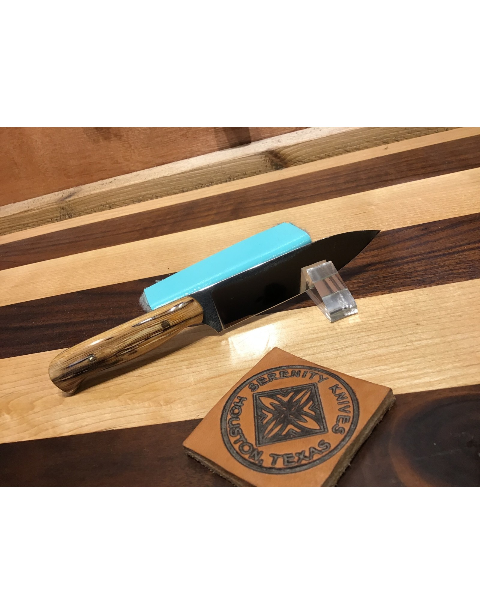 Serenity Small Gabriel's Paring Knife in Spalted Sugar Maple