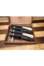 Serenity Ebony & Ivory Steak Knife Set