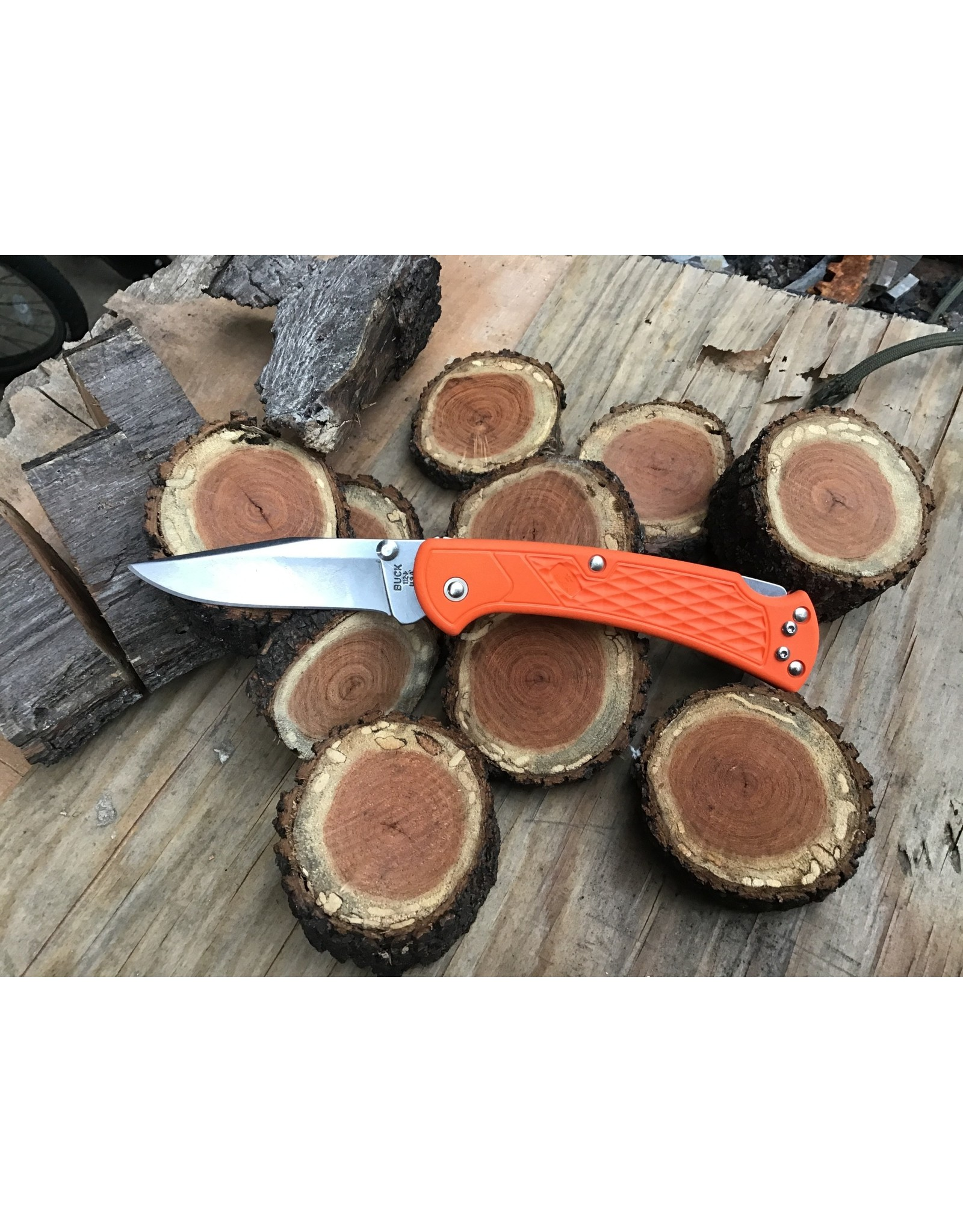 Buck Buck 112 Ranger Slim Select Orange