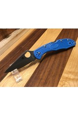 Spyderco Spyderco Delica 4 Blue FRN Flat Ground