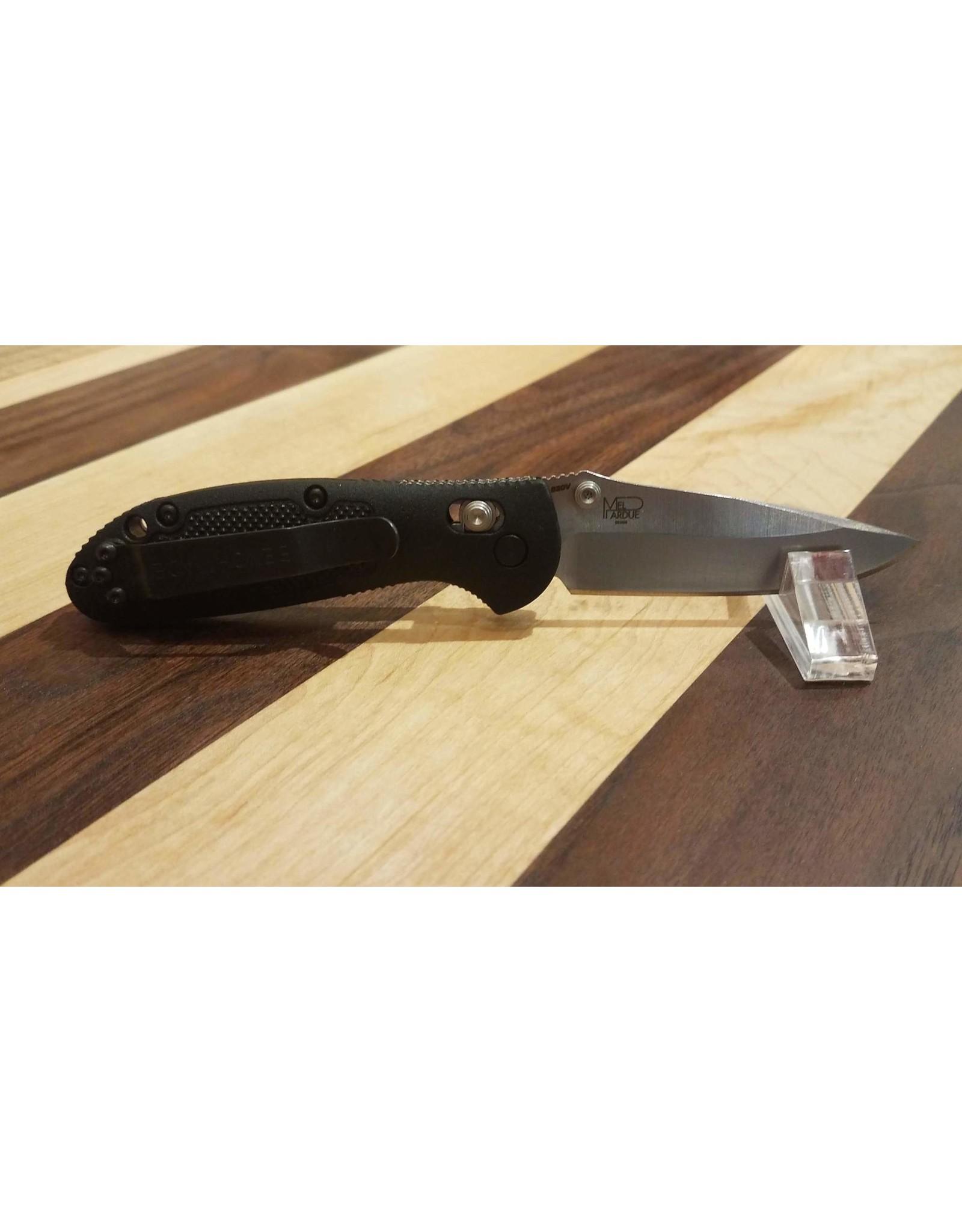 Benchmade Mini Griptilian 556-S30V Drop Point w/Thumb Stud