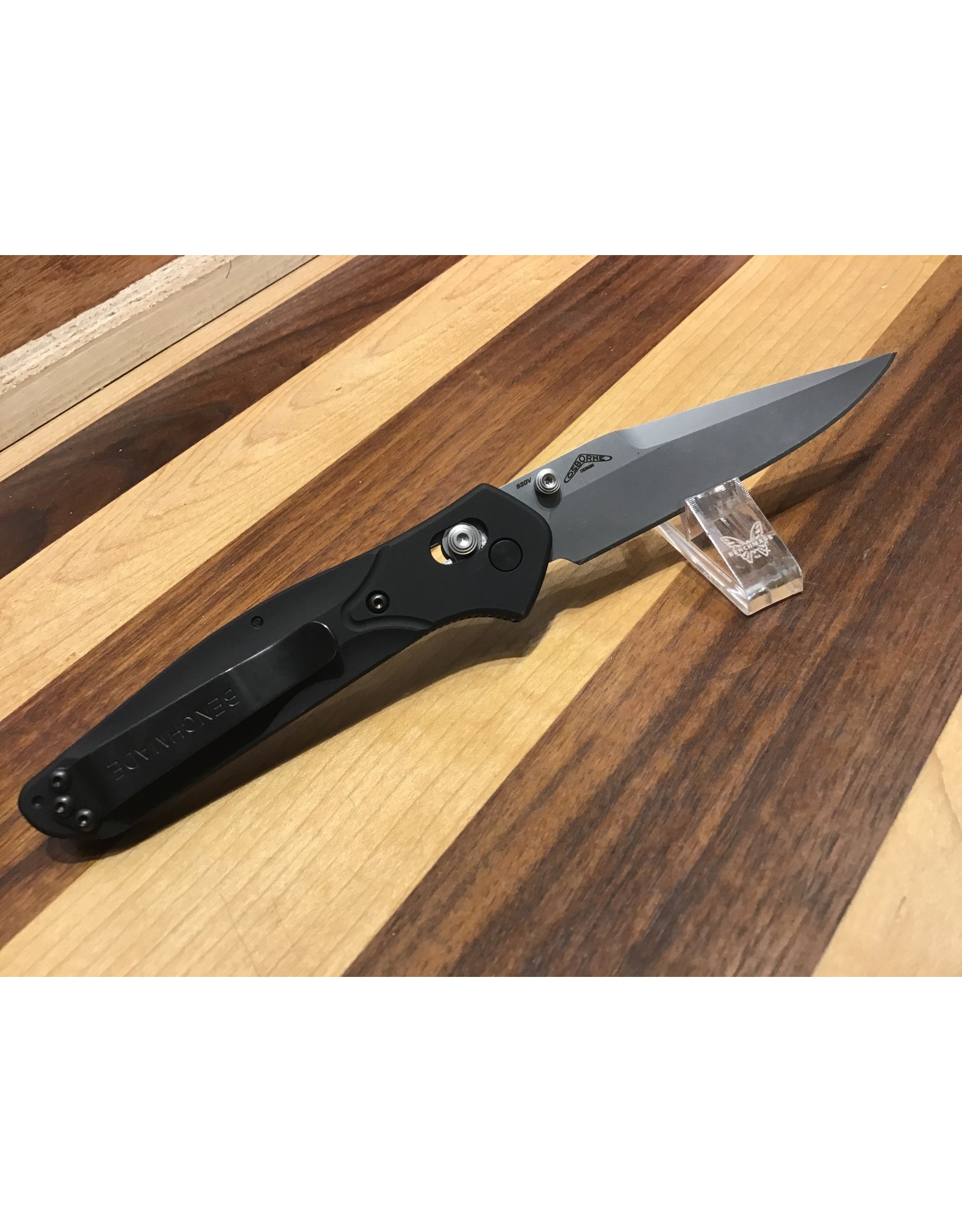 Benchmade Osborne 943  Drop Point Folding Knife
