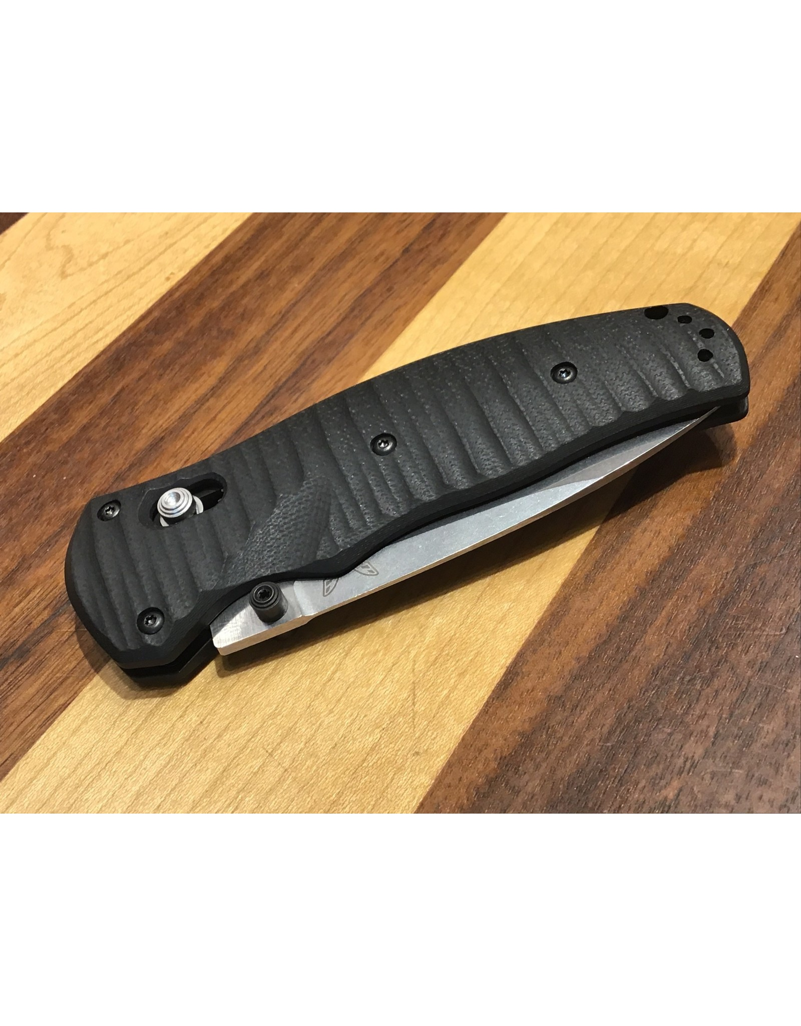 Benchmade Volli 1000001 Drop Point Spring Assisted Folding Knife