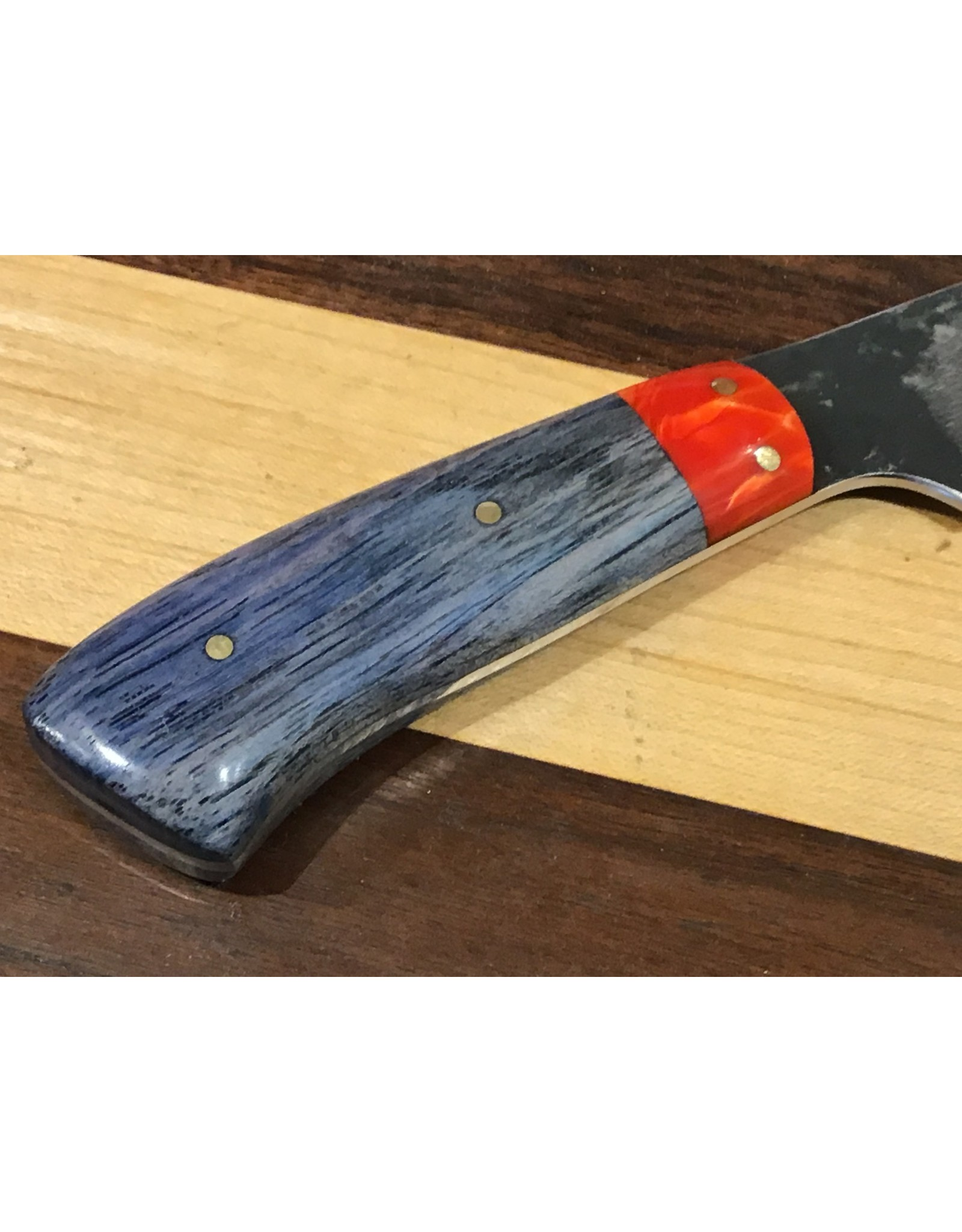 Serenity Boning Knife in CPM154 w/ a Juma and Blue Pecan handle