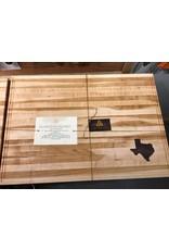 Trinity Craftsman XL Cutting Board Maple Walnut Texas