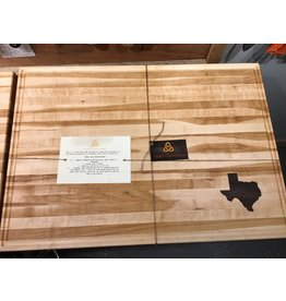 Trinity Craftsman XL Cutting Board Maple Walnut Texas
