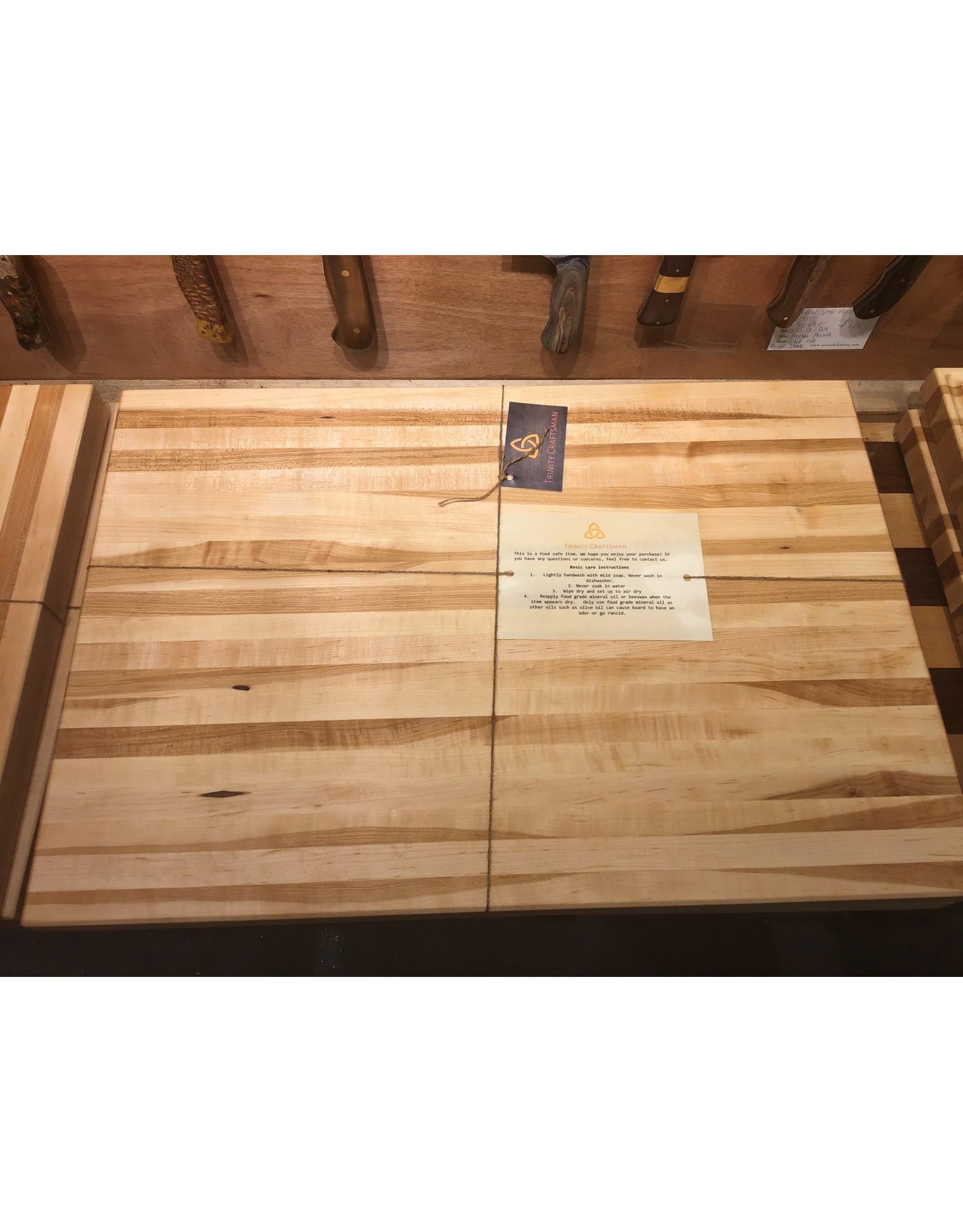 Trinity Craftsman XL Cutting Board Maple