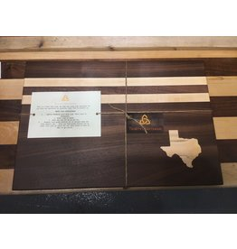Trinity Craftsman Large Cutting Board Walnut Maple Texas