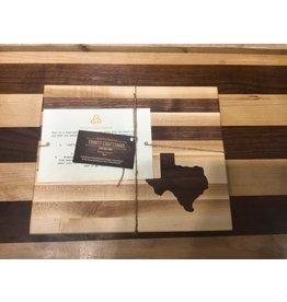 Trinity Craftsman Small Cutting Board Maple/Walnut, Walnut Texas