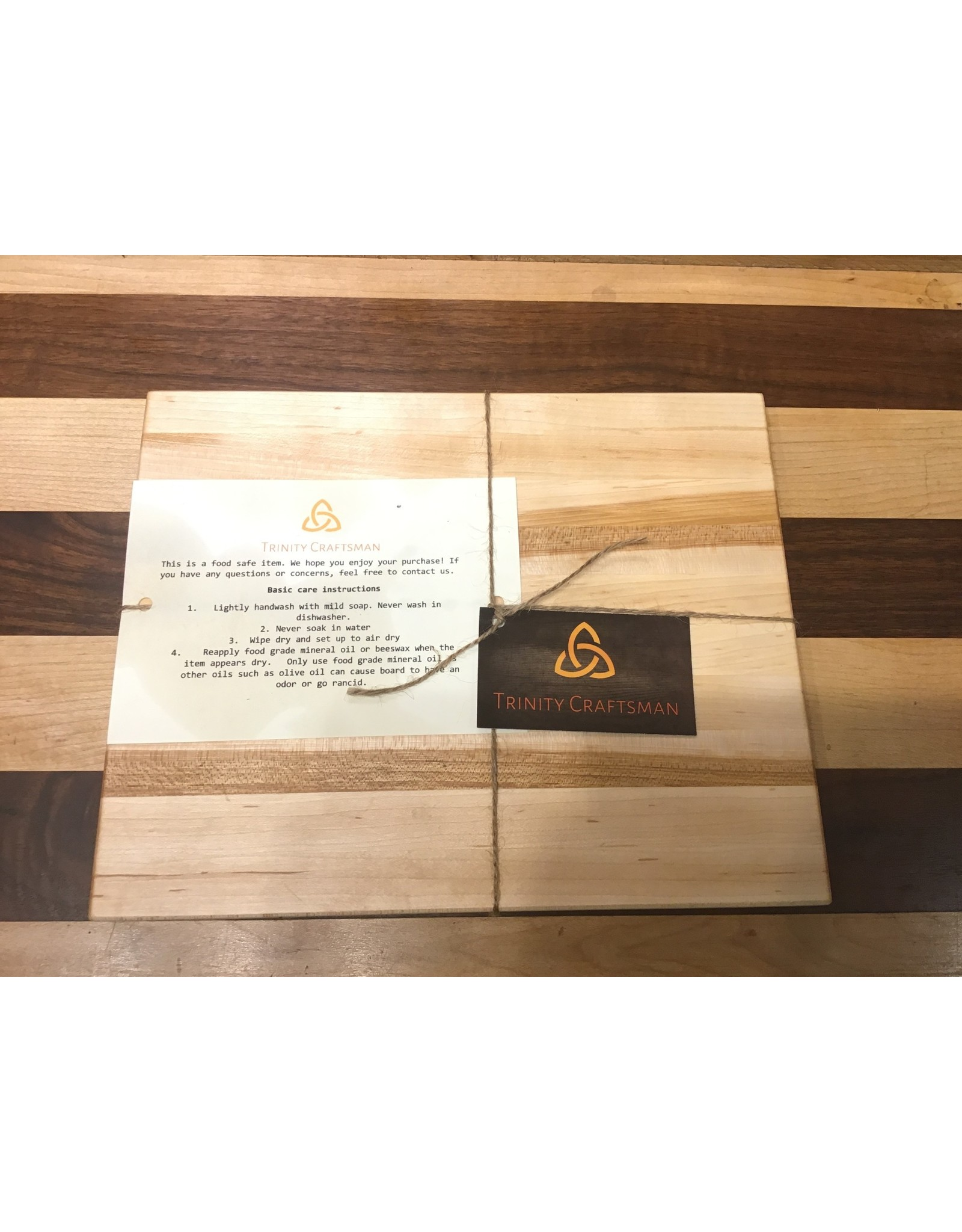 Trinity Craftsman Small Cutting Board Maple