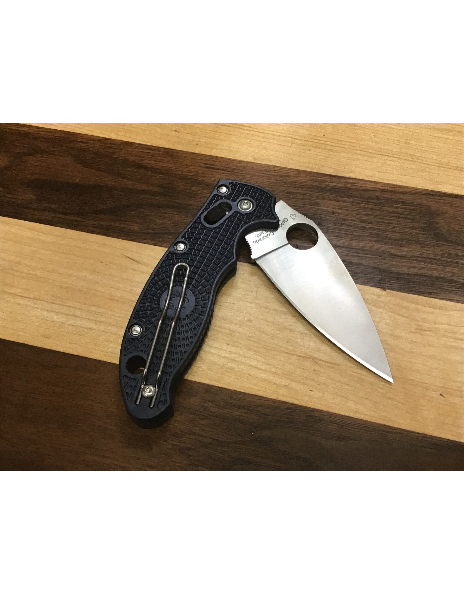 Spyderco Spyderco Manix 2 in CPM S110V with Dark Blue FRN
