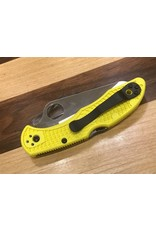 Spyderco Spyderco Salt 2 Yellow FRN with Lock Back