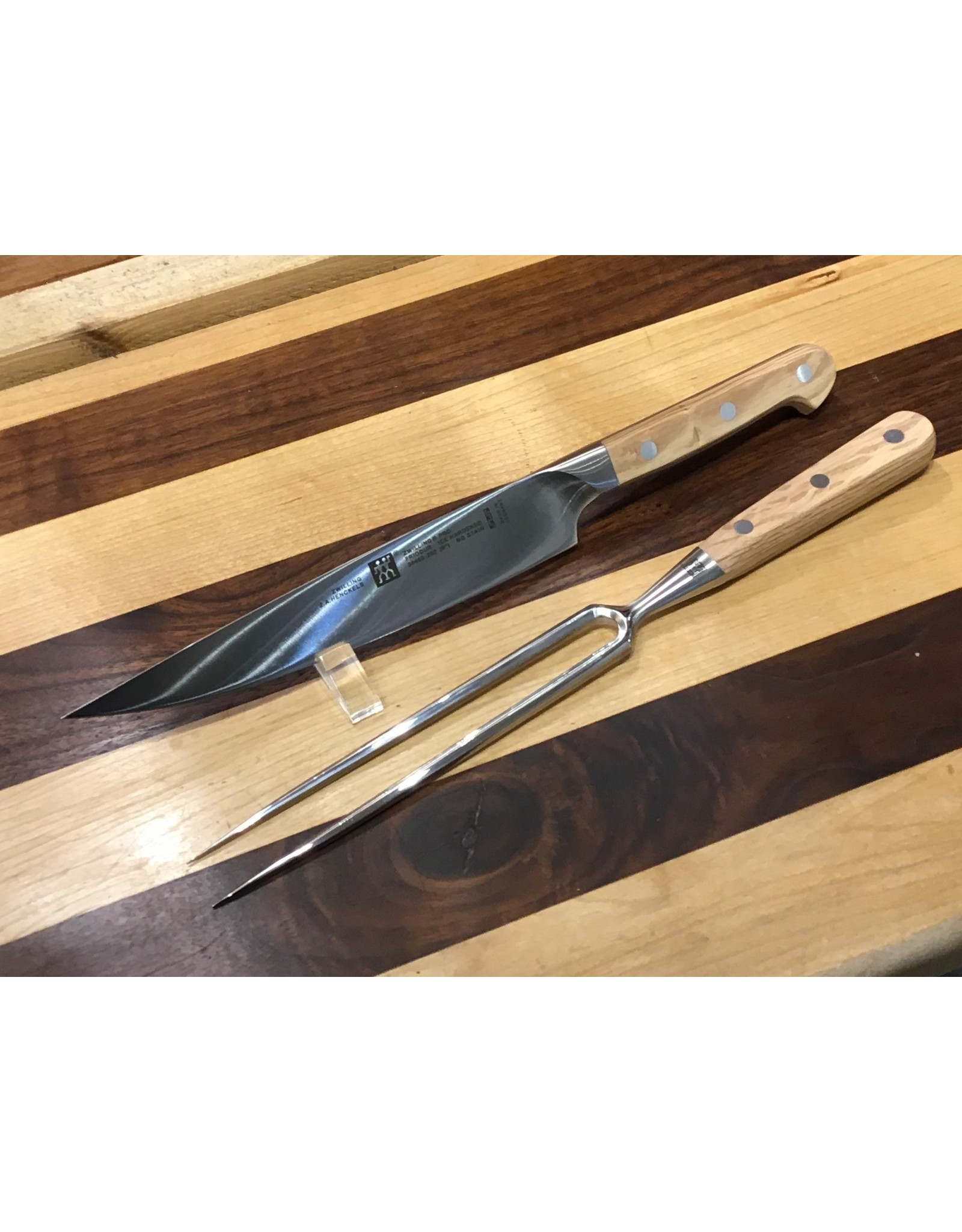 Zwilling Zwilling Pro Holm Oak Carving Set