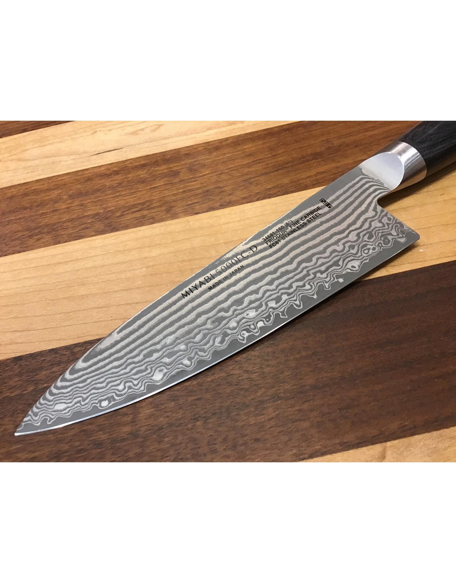 "Miyabi Miyabi Kaizen II 6"" Chef's Knife 5000FC-D"