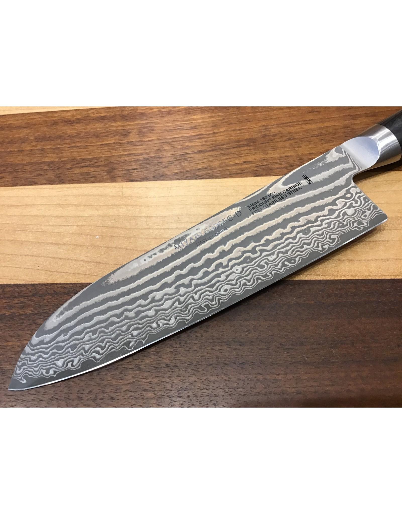 "Miyabi Miyabi Kaizen II 7"" Santoku Knife 5000FC-D"
