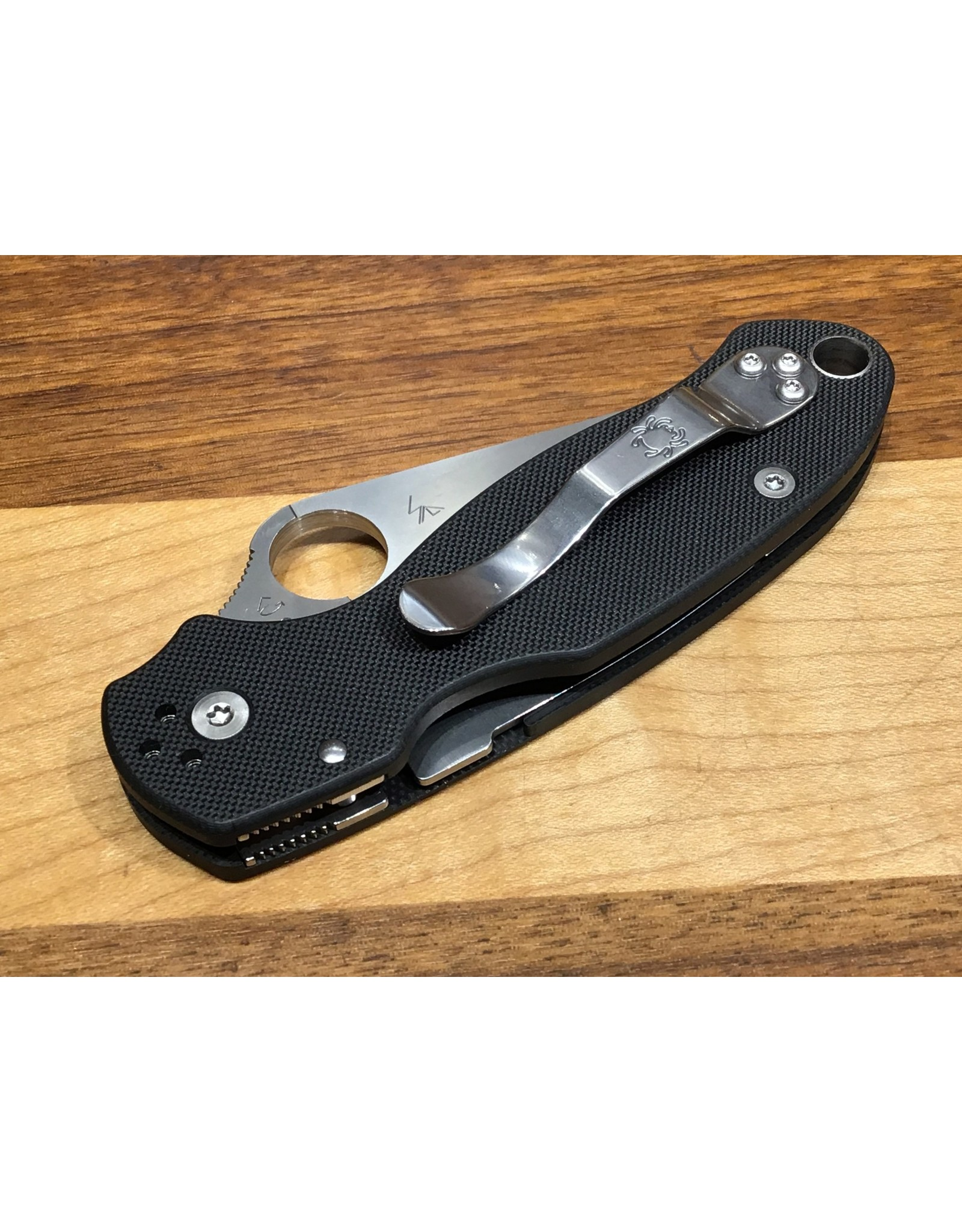Spyderco Spyderco Para 3 With Black G10 in CPM S30V steel & Compression Lock