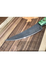 Serenity Boning Knife - Thick Spine in CPM 154 with Green Box Elder