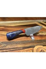 Serenity Acid splatter neck knife with resin hybrid handle