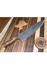 Serenity Thick Spine Gyuto in CPM154 with Mini Drop Acid Wash