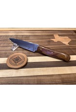 Serenity Paring Knife in 52100 with Desert Ironwood Handle