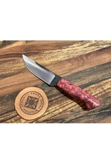 Serenity Paring Knife in CPM154 with Fuchsia Box Elder