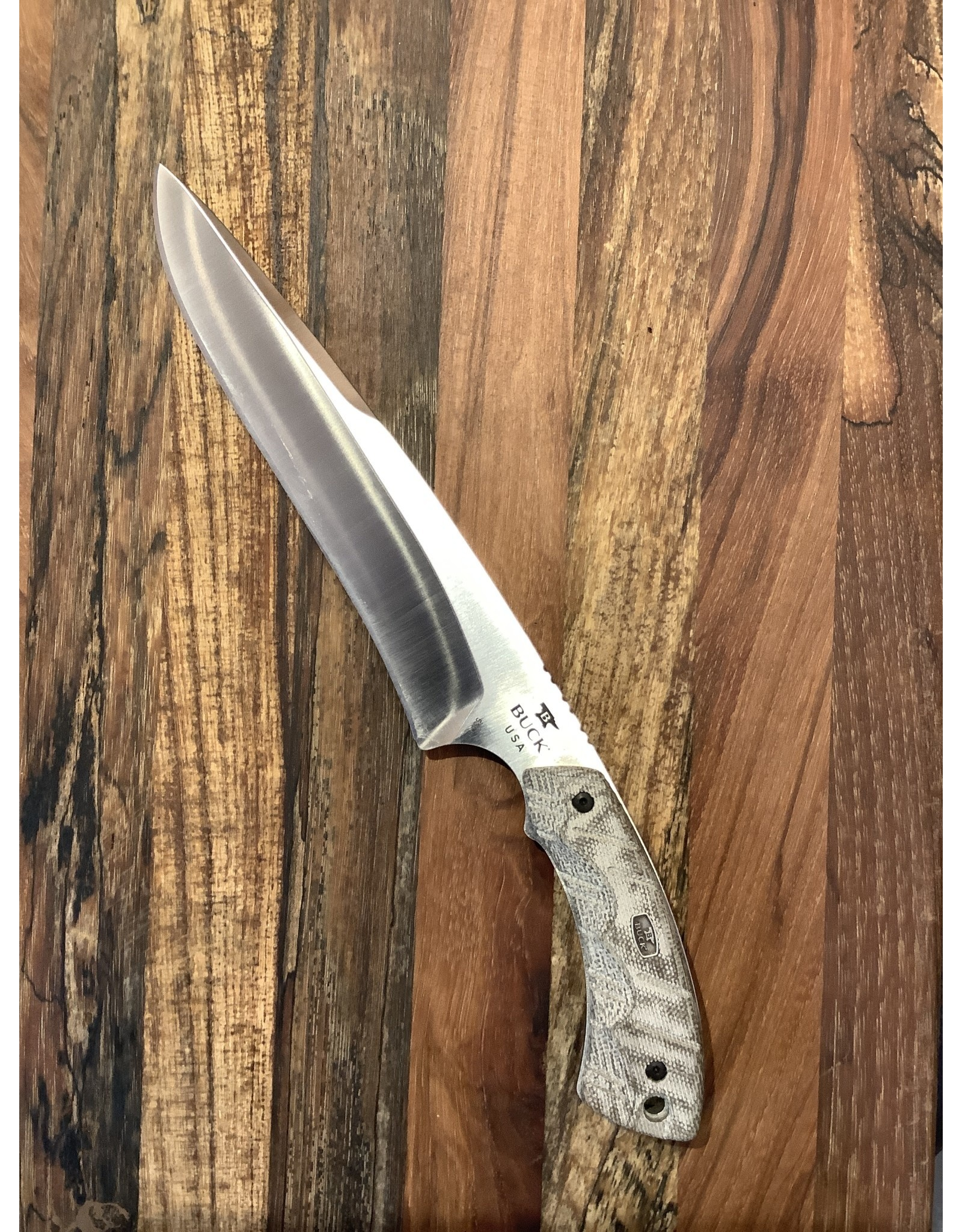 Buck BUCK Open Season Moose Skinner OD Green Micarta
