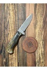 Serenity Small Drop Point Hunter with Giraffe bone