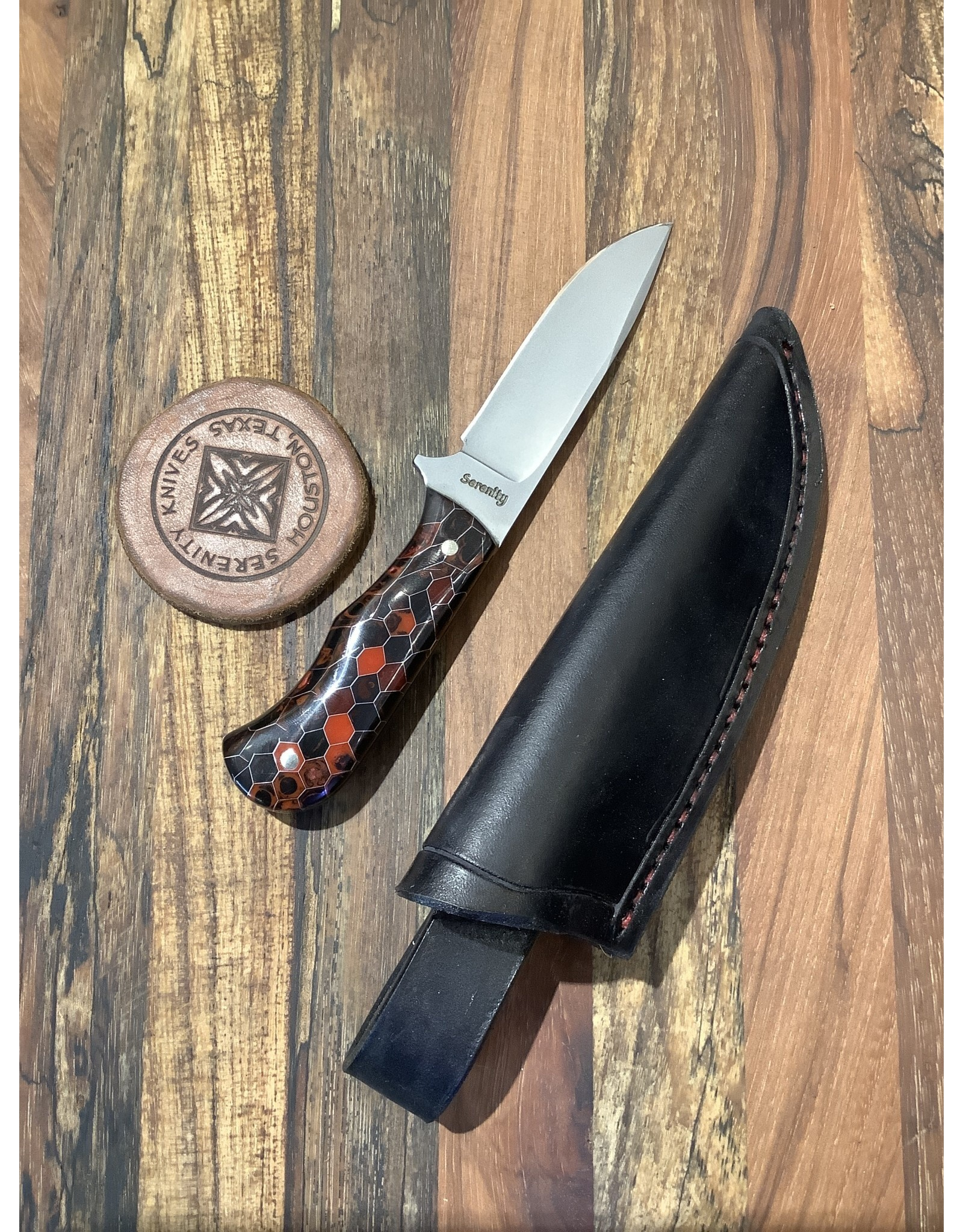 Serenity Small Drop Point Hunter Bradford Hunt Custom