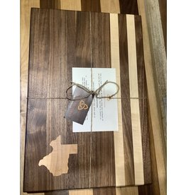 Trinity Craftsman Large Cutting Board Walnut, Maple Texas