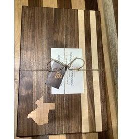 Trinity Craftsman Large Cutting Board Walnut, Maple Texas