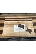 Trinity Craftsman Large Cutting Board Maple, Walnut Texas