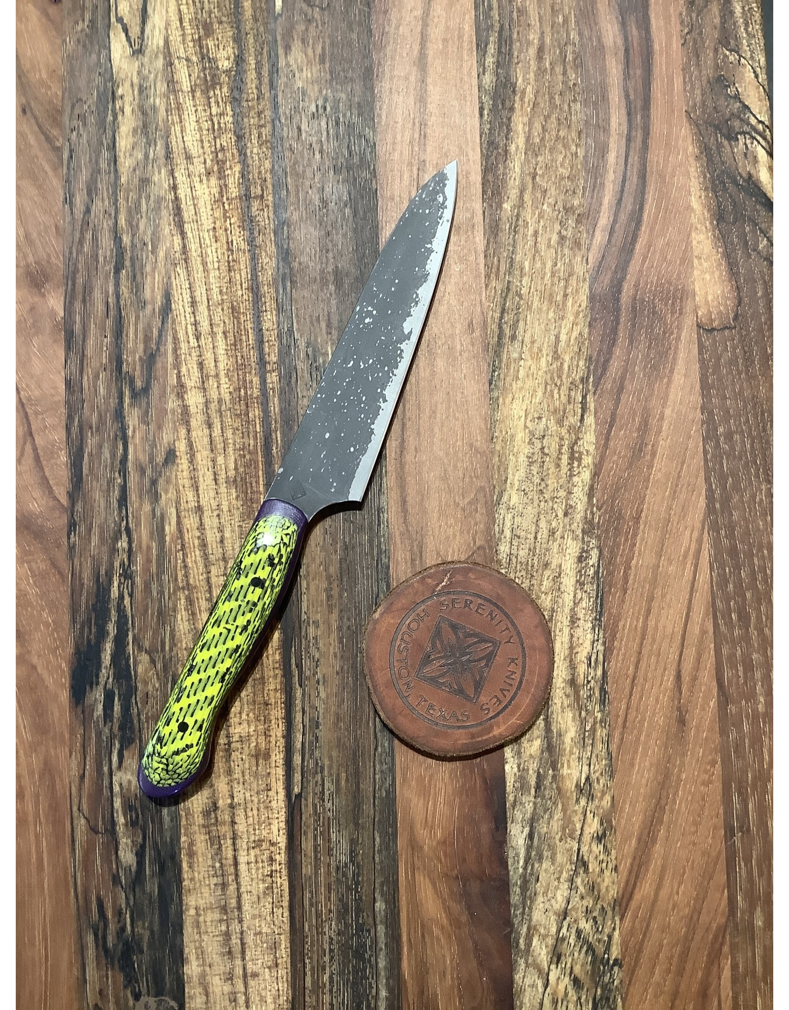 Serenity T-Style Paring Knife CPM-154 Acid Textured