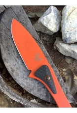 Benchmade Altitude Orange with Carbon Fiber micro scales