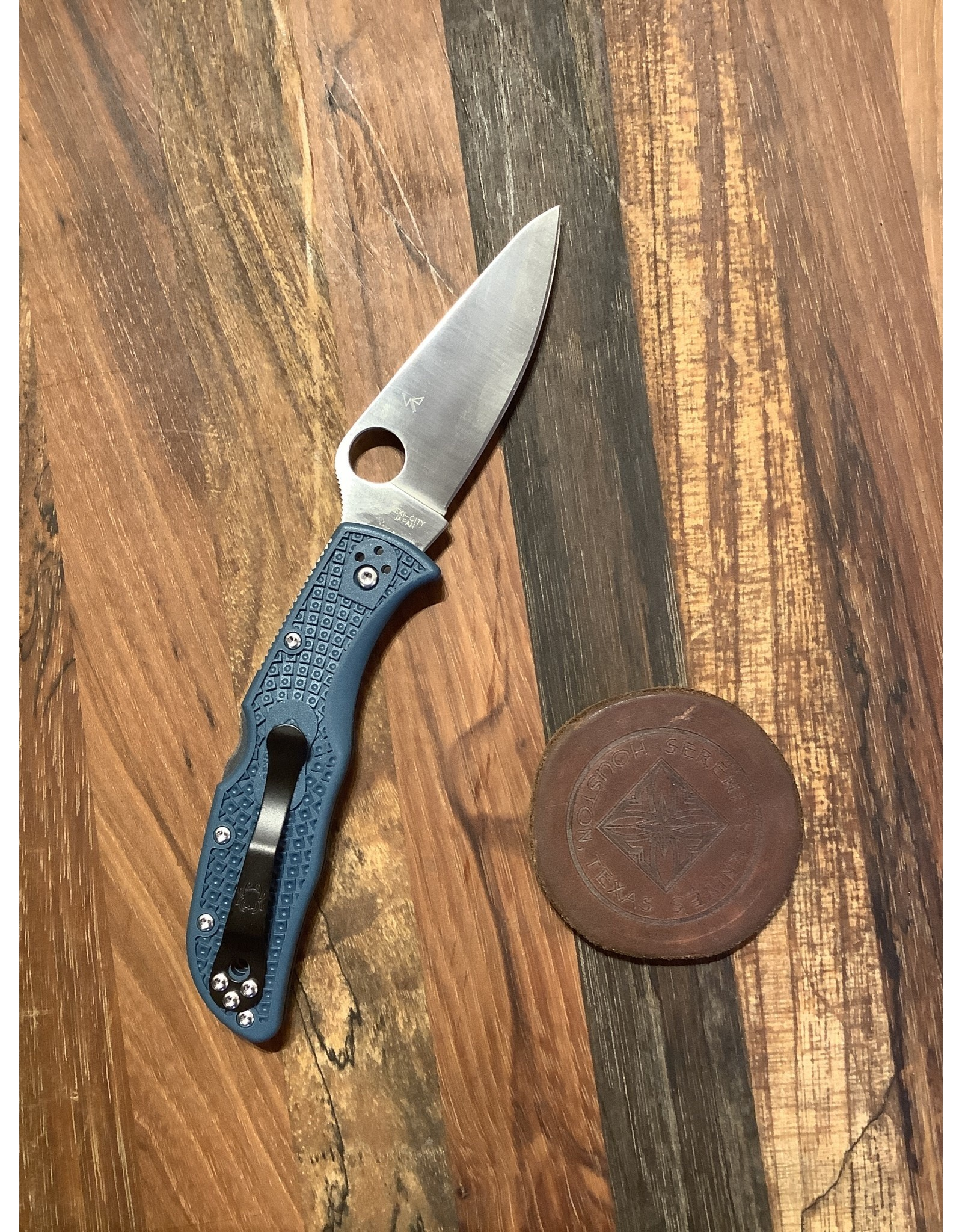 Spyderco Endela with K390 and Blue FRN