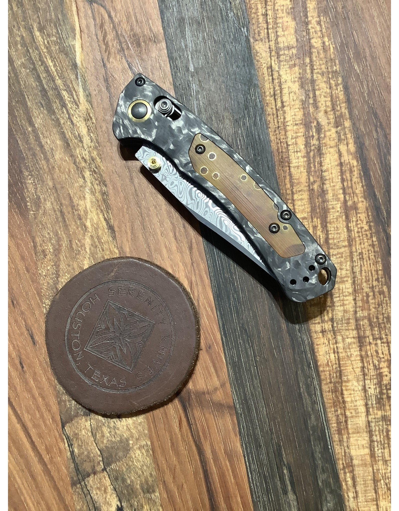 Benchmade Gold Class Mini Crooked River