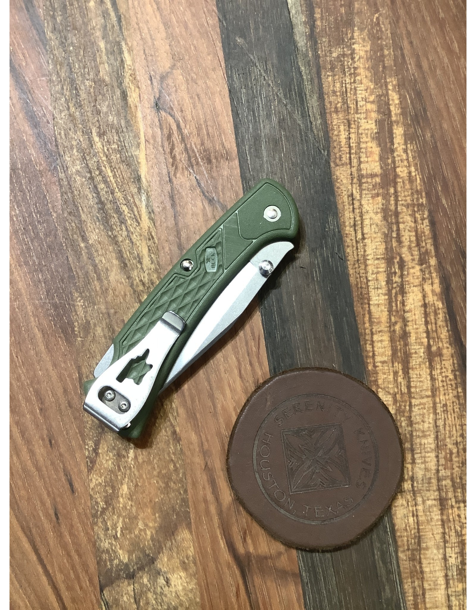 Buck BUCK 112 Slim Ranger Select OD Green