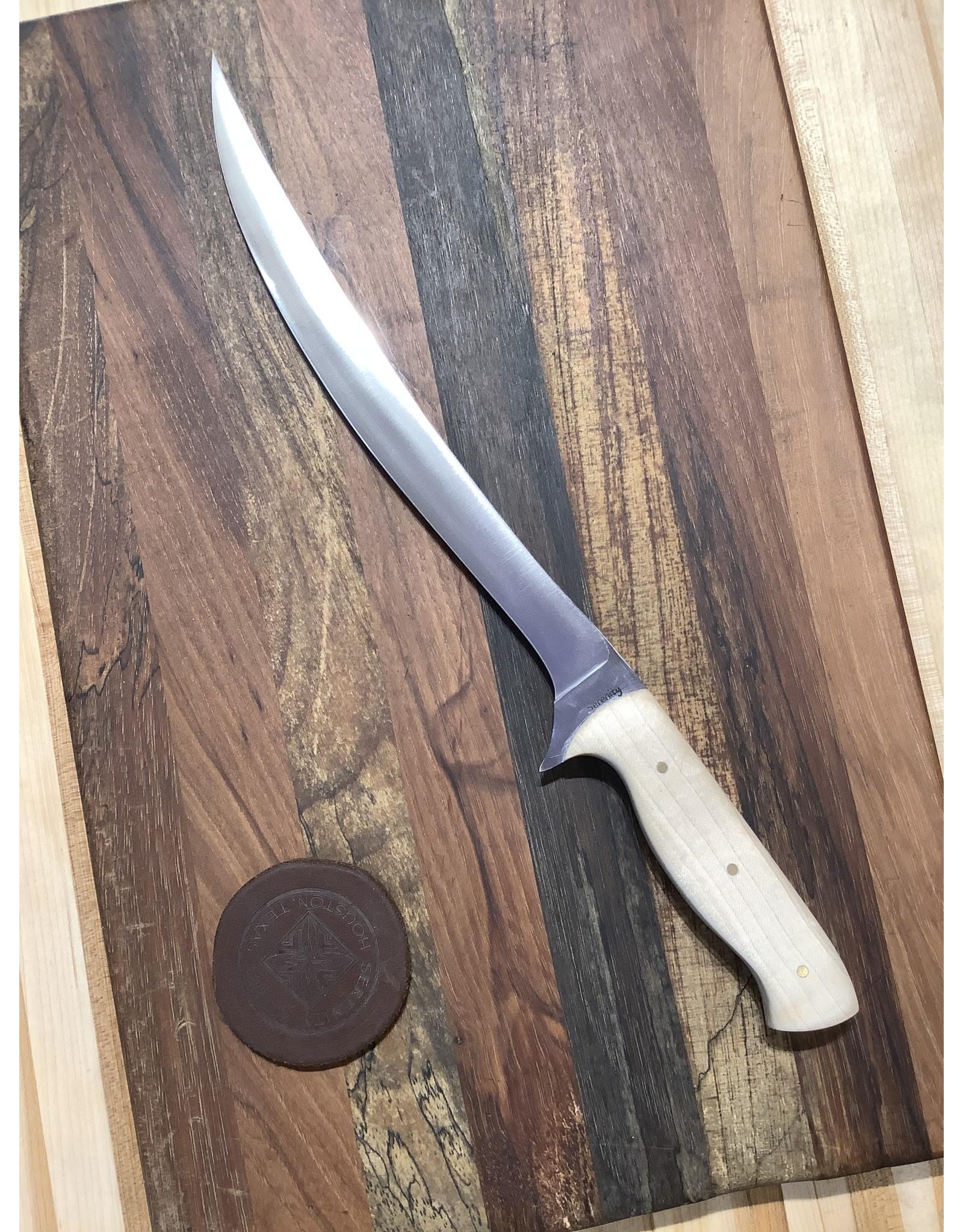 Serenity Curved Filet Knife Z-FiNit
