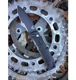Benchmade Benchmade Casbah Automatic BK Partial Serrated