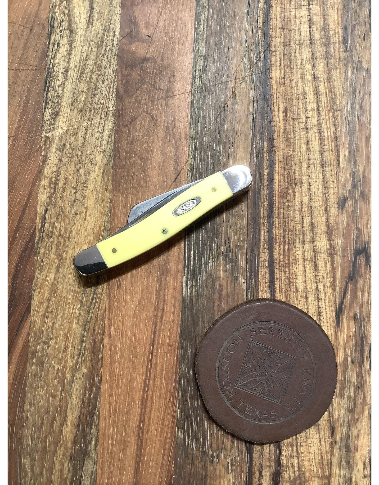 Case Case Medium Stockman Yellow Delrin