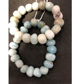 Tumbled Pebble Bracelet - Large Amazonite